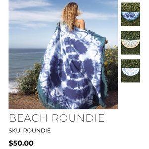 Gypsy 05 boho beach roundie